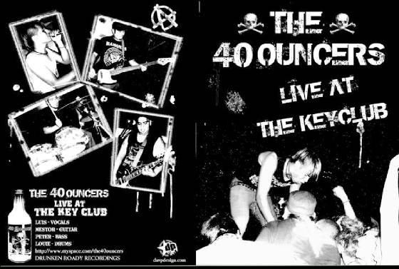 THE 40 OUNCERS DRUNK PUNX